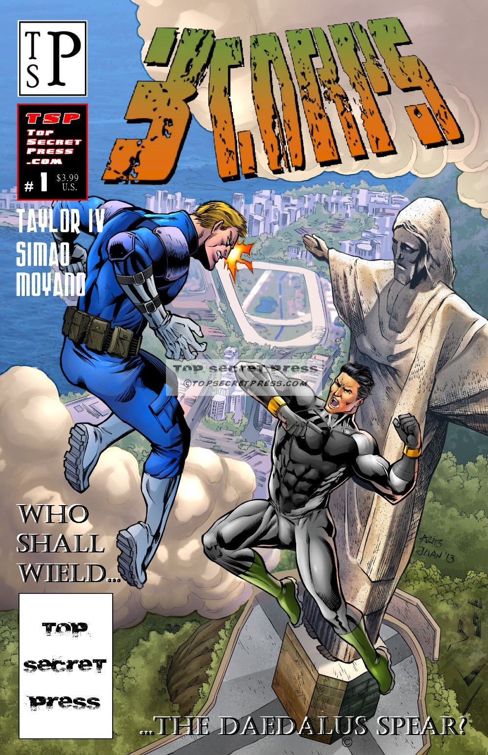 3CORPS #1 Regular Cover