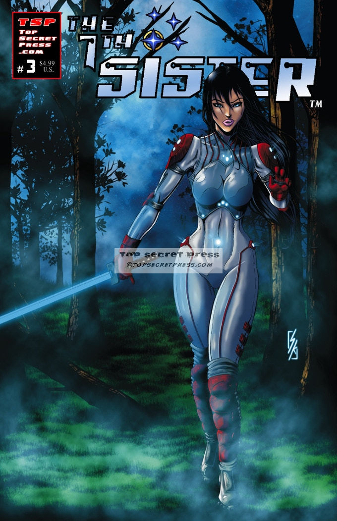 7th Sister #3 Forest Variant