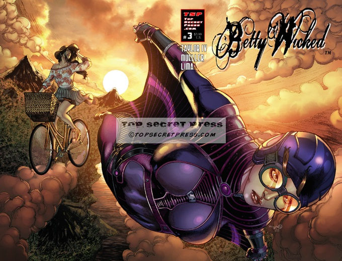 Betty Wicked #3 Regular Cover