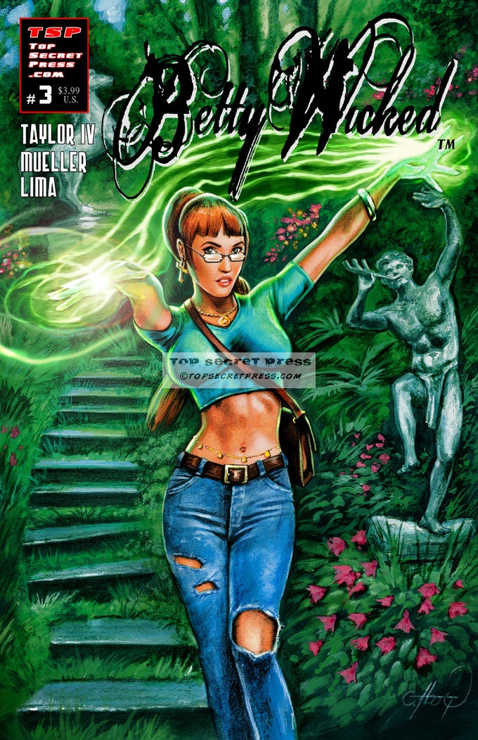 Betty Wicked #3 The Green Cover