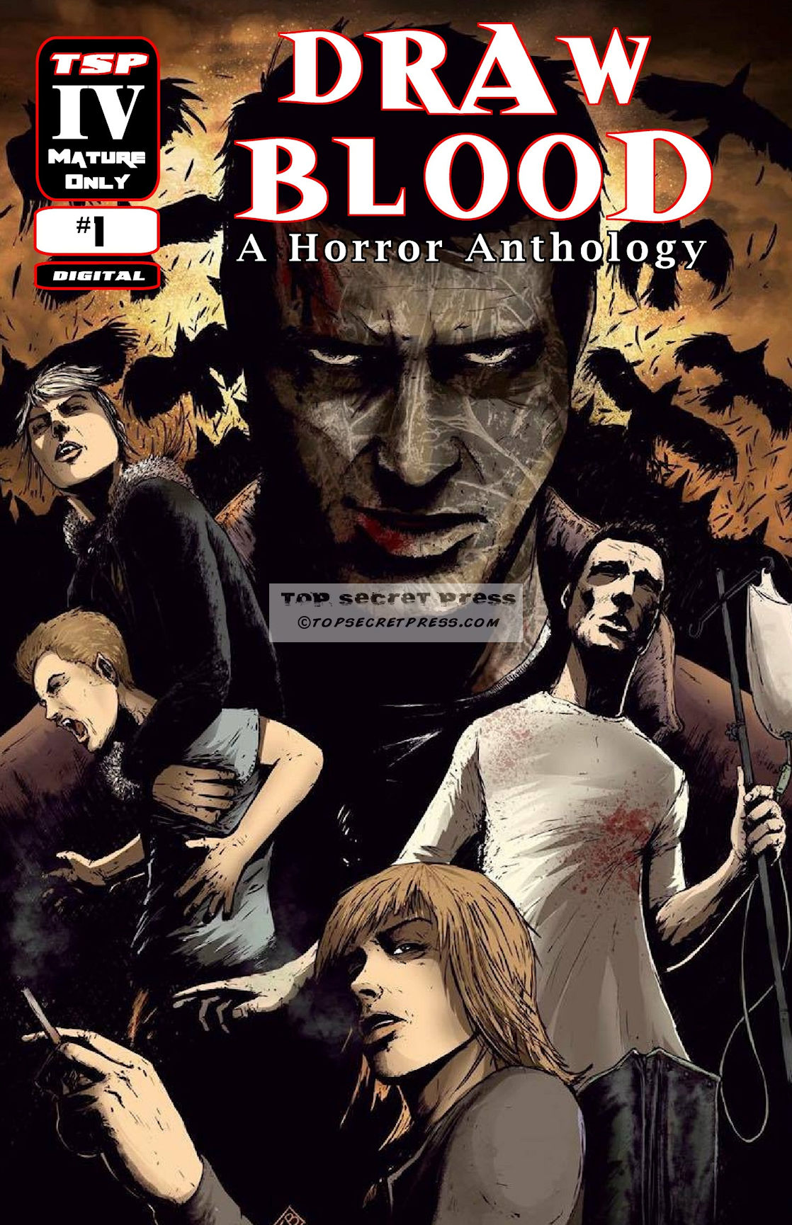 Draw Blood - A Horror Anthology