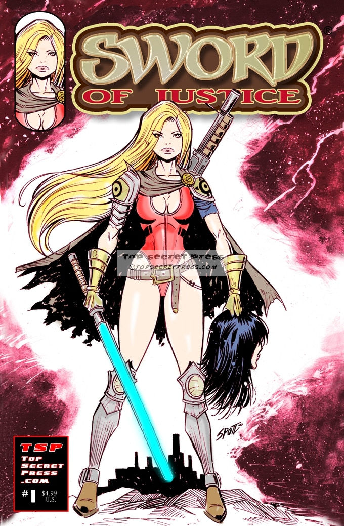 Sword of Justice #1 Variant Cover