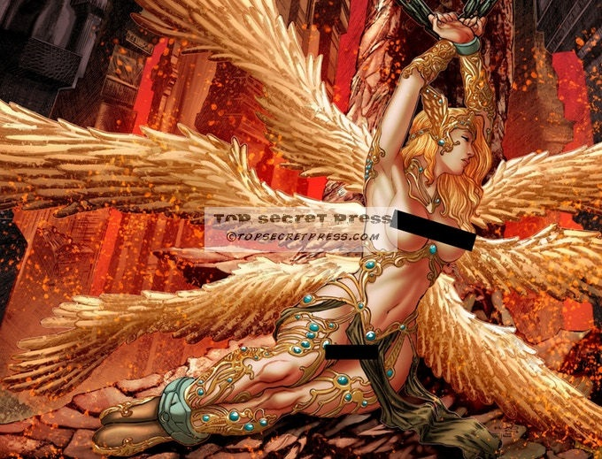Legend: Hell's Executioner #4 Fallen Angel Cover